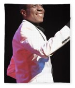 Freddie Jackson Fleece Blanket