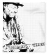 Freddy And His Guitar Fleece Blanket
