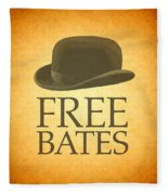 Free Bates Fleece Blanket