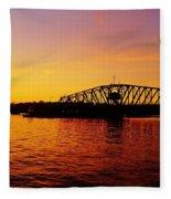 Free Bridge Fleece Blanket