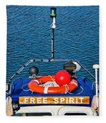 Free Spirit 2 Fleece Blanket