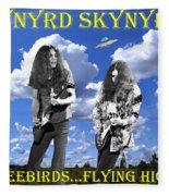 Freebirds Flying High Fleece Blanket