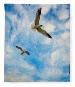 Freedom Impasto Fleece Blanket