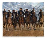 Freedom Riders Fleece Blanket