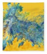 Freedom Run Fleece Blanket