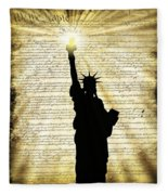 Freedoms Light Fleece Blanket