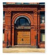 Freemasons Hall, Factors Walk Fleece Blanket