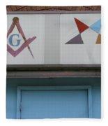 Freemasons Fleece Blanket
