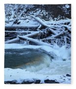 Freezing Dam Fleece Blanket