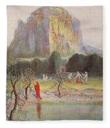 Freias Garden, 1906 Fleece Blanket