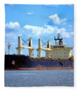 Freight Hauler Fleece Blanket