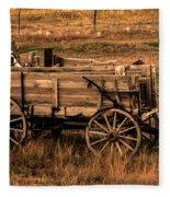 Freight Wagon Fleece Blanket