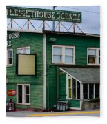 Freighthouse Square Fleece Blanket