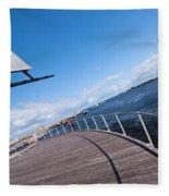 Fremantle Maritime Museum 10 Fleece Blanket