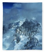 French Alps Fleece Blanket