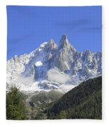 French Alps Fleece Blanket