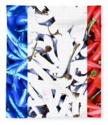 French Connection Fleece Blanket