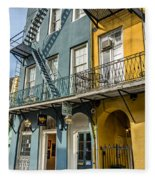 French Quarter Flair Fleece Blanket