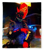French Quarter Monster  U Have The Time Fleece Blanket