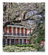 French Quarter Spring Fleece Blanket