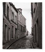 French Street Fleece Blanket