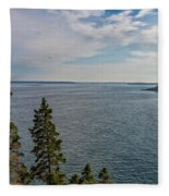 Frenchman Bay Fleece Blanket
