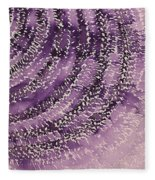 Frequency Increase Original Painting Sold Fleece Blanket