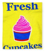 Fresh Cupcakes Fleece Blanket