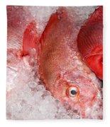 Fresh Fish 05 Fleece Blanket