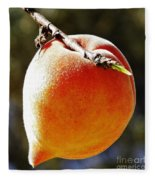 Fresh Peach Fleece Blanket