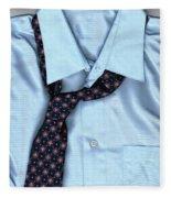 Friday Night - Men's Fashion Art By Sharon Cummings Fleece Blanket