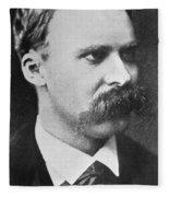 Friedrich Wilhelm Nietzsche Fleece Blanket