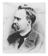 Friedrich Wilhelm Nietzsche In 1883 Fleece Blanket