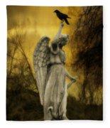 Friend Of An Angel Fleece Blanket