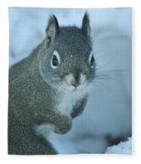 Friendly Squirrel Fleece Blanket
