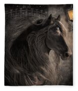 Friesian Glow Fleece Blanket