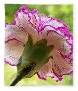 Frilly Carnation Fleece Blanket