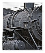 Frisco Train Locamotive One Fleece Blanket