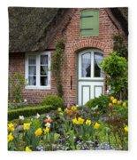 Frisian House Fleece Blanket