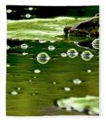 Frog Pond Space Galaxy Fleece Blanket