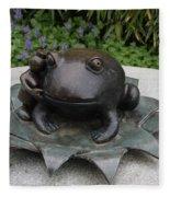 Frog Whisperer Fleece Blanket