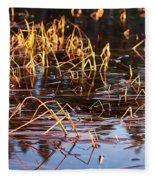 Froggy Sunset Fleece Blanket