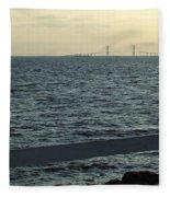 From A Distance Fleece Blanket