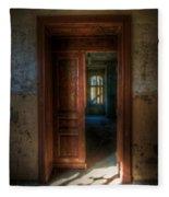 From A Door To A Window Fleece Blanket