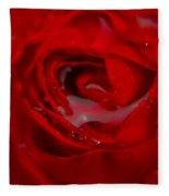 From A Kiss Of Rain Fleece Blanket