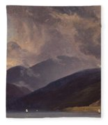 From Balestrand At The Sognefjord Fleece Blanket