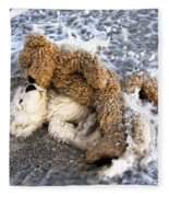 From Bear To Eternity - By William Patrick And Sharon Cummings Fleece Blanket