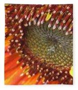 From Bud To Bloom - Sunflower Fleece Blanket