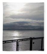 From The Deck Fleece Blanket