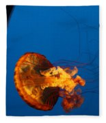 From The Deep - Jelly Fish Fleece Blanket